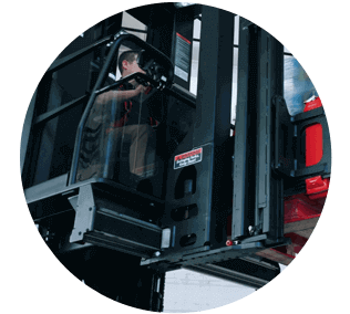 Raymond Lift Trucks – Swing Reach Truck Sales Video